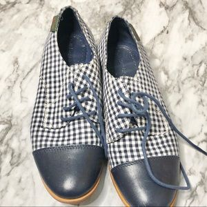 GhBass | checkered saddle shoes 6.5